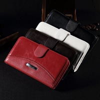 Luxury Vintage Wallet Leather Case for Samsung Galaxy S5 i9600 S5 mini Stand Credit Card holder case BT
