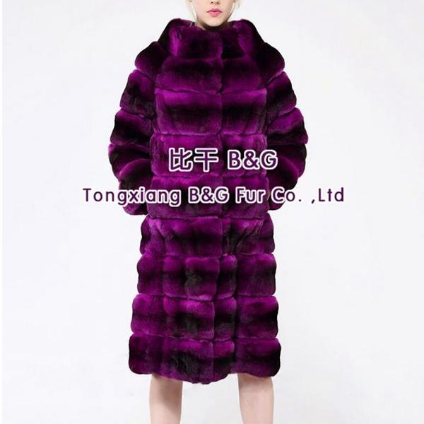 BG29884 Genuine Chinchilla Fur Coats Women 2014 Show Real Fur Outwear Eurpean Show Natural Chinchilla Fur Coat(China (Mainland))