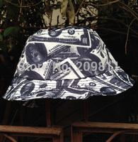 hip hop graffiti print flat fishing cap for women outdoor Dollar men Bucket sun  Hat