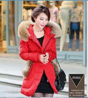 2014 Women's winter Parkas Long Overcoat Fur parka womens brand down jacket 90% duck down parkas female PA-806