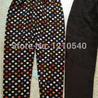 продаете k368 зимние брюки женщин мода утолщение пушистые искусственной кожи на колена эластичные теплой Капри и розничная торговля