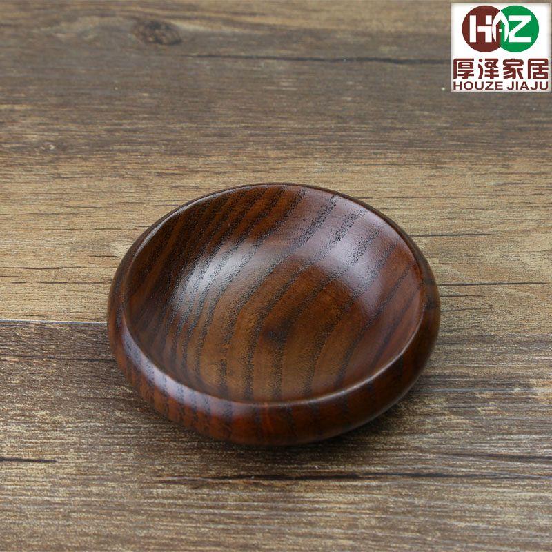 Panese estilo de madeira tempero prato pequeno molho de soja prato de vinagre de exportação japonês mergulho prato de mostarda prato hotel lanches(China (Mainland))