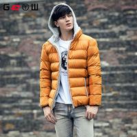 The King brand men's winter coat with detachable new men's hooded XL warm coat jacket