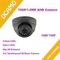 Hot selling!1.3Megapixel  960P AHD Camera HD Analog High Definition Vandalproof dome Camera  with 23pcs IR LEDs 20m IR Distance