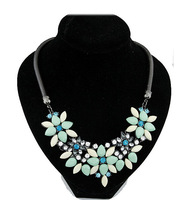 New  2014 SPX4929 Fashion Amazing Crystal Bib Bead collar Statement Necklaces accessories Pendants For Women