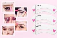 Header card thrush card threading A word eyebrow makeup tools draw eyebrow auxiliary device