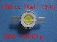 Free Shipping 38mil Chip10W power led Epistar Chip 20pcs/lot