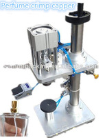 Free Shipping,Pneumatic Perfume Bottle Capping Machine,Perfume Crimping machine