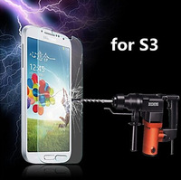 1pcs/lot 9H 0.33mm Premium Tempered Glass Screen Protector Toughened Protective Film for Samsung Galaxy SIII S3 I9300