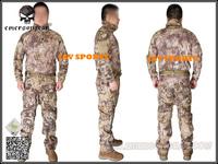 EMERSON Uniform Riot Style Camo Tactical Uniform Set In Kryptek Highlander Teflon Coated+Free shipping(SKU12050397)