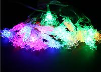 free shipping 5.5M 28 LED Colored lights / Christmas tree decorative light string lights / holiday decoration lights 120g DIY