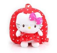 Free shipping cute Hello Kitty children's backpack school bags cartoon kindergarten backpack hello kitty bag for Christmas gift