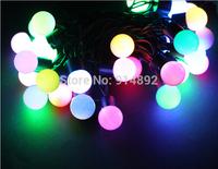 free shipping 4M 30 LED Colored lights / Christmas tree decorative light string lights / holiday decoration lights 250g DIY