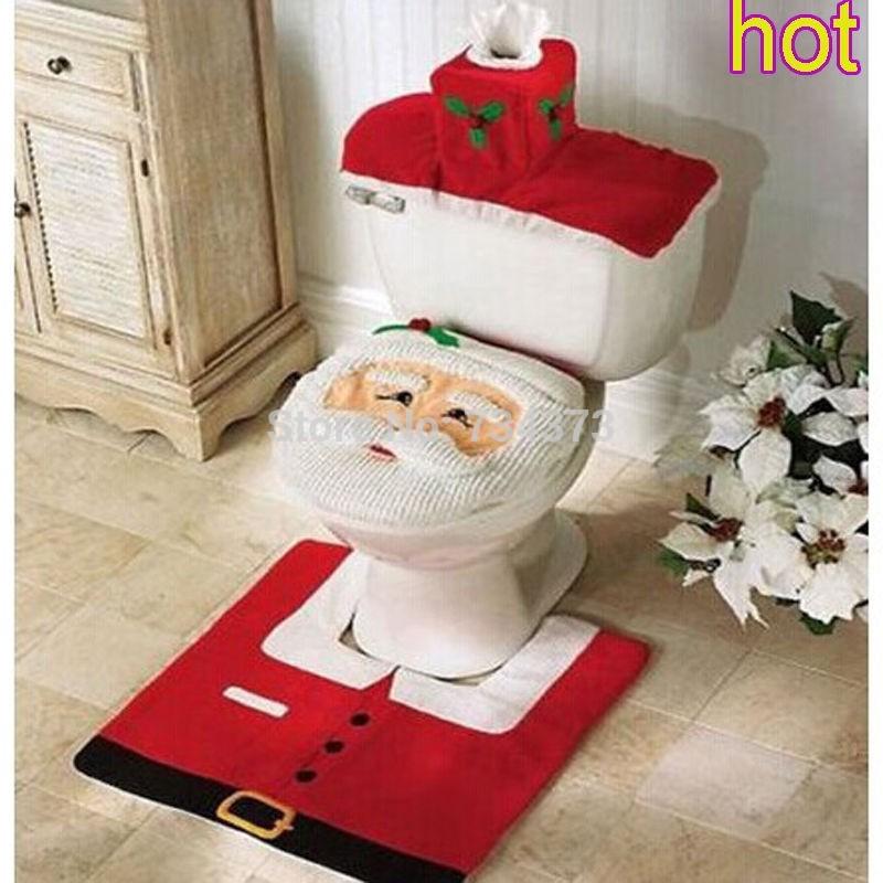 Set De Baño De Navidad: de baño Mat Set decoraciones navidad en Artículos Navideños de Casa