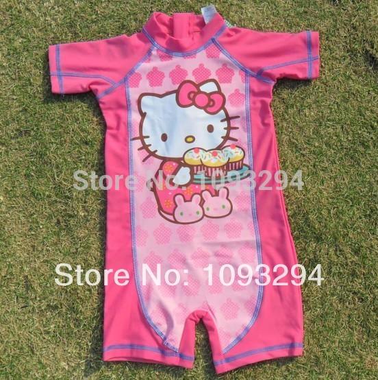 AliExpress.com Product - girls swimwear children swimwear piece swimsuit girls swimsuit minnie mouse hello kitty infantil disny princess 1 piece