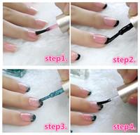 dropshipping 2014 latest G'SANG french china nail art lacquer polish set with nail salon glaze sweet color nail polish bulk set
