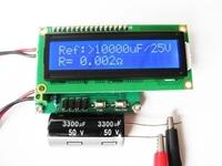 ESR capacitor line detector tester ESR table + milliohmmeter