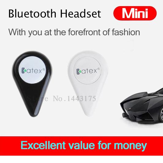 katex Universal Super Mini general mobile phone computer Wireless Bluetooth mono Bluetooth headset earphone for all phone(China (Mainland))