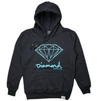 Plus szie 2014 New fashion brand men hoodies Diamond supply co men hoodie 100% cotton fleece sweatshirts moleton masculino S-XL