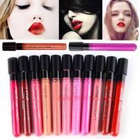 Hot matte lipstick 11 colors velvet high quality waterproof lip gloss Lipgloss colors big discount Drop/free shipping 20097 3F