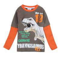 2014 New Design Children T-Shirts Long Sleeve Frozen Cartoon Boys Clothes O-Neck Children TShirt  Frozen Cartoon Shirts