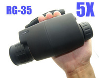 Free Shipping!Brand Gen1RG- 35 Digital 5X50 Night Vision Black Monocular For Hunting Boating