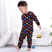 Baby Warm cotton cartoon Long Johns underwears sets Infants undergarment Rompers Kids Children underclothing Underwear Suits