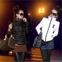 2014 NewHigh collar short paragraph Slim Down Women Short Sections Down Coat Women outerwear down coat jacket Free Shipping