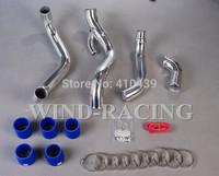 Wholesale  INTERCOOLER PIPING KIT  For Nissan 95-98 240SX S14/S15 SR20DET Free Customn Logo INTERCOOLER ALLOY PIPE