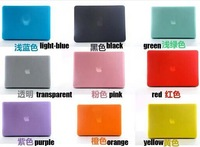"""Case For Apple Macbook Air 11"""" 13"""" Pro Retina 13"""" 15"""" Transparent or matte  Protector case For Mac book 11.6 13.3 15.4 free ship"""