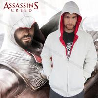 New Assassins Creed Desmond 4.0 Olecranon  Conner Kenway fleece Hoodie Coat Jacket  for Carnival Halloween ACD Cosplay Costume