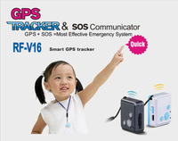 Super mini GPS Trackers & SOS communicator For Kids Remote Tracking
