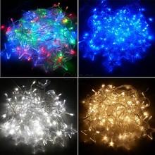 4 x 0.8m 8 Modes 128 LED String Fairy Lights Five-pointed Star Shape Christmas Wedding Party Night Light EU Plug 25(China (Mainland))