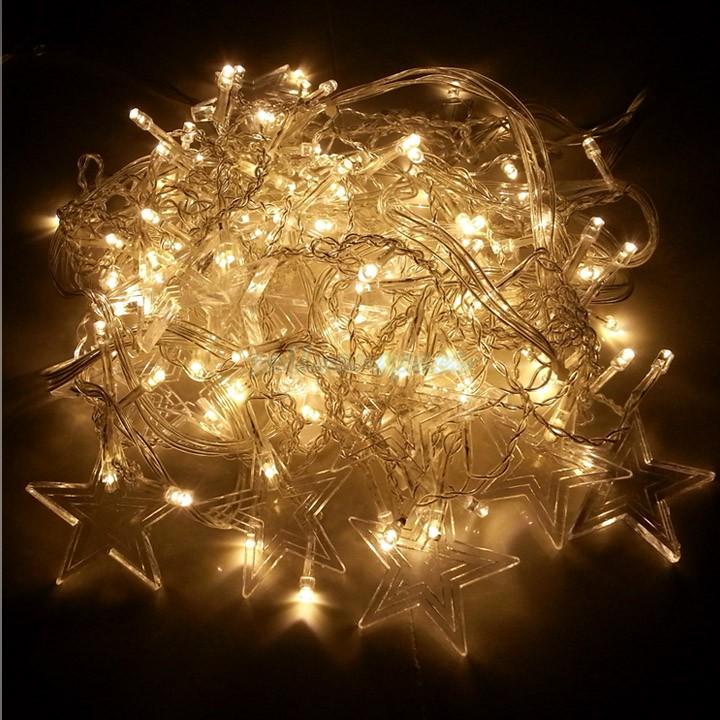 5 pcs/lot 128 LED String Light 4 x 0.8m 110V Decoration Light for Christmas Party Wedding 4 Colors lighting lamps 25(China (Mainland))