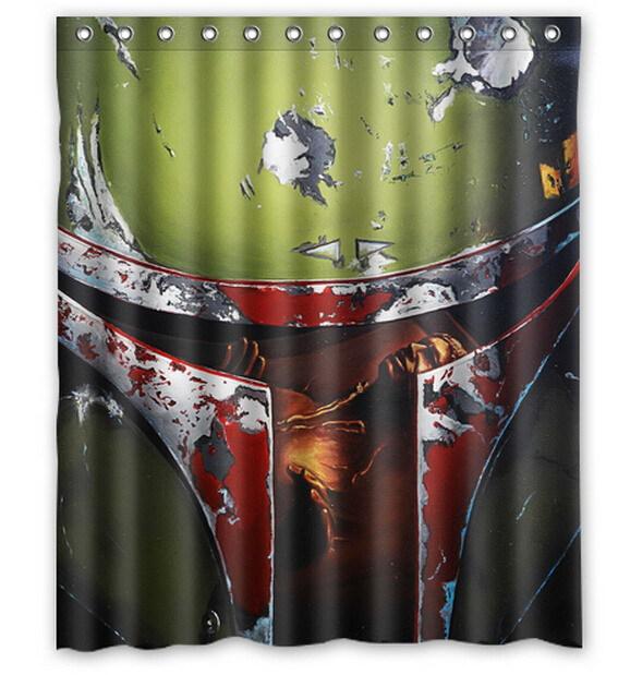 Cortinas De Baño Star Wars:Comprar Star Wars Poster Yoda estrella de la muerte trooper impreso de
