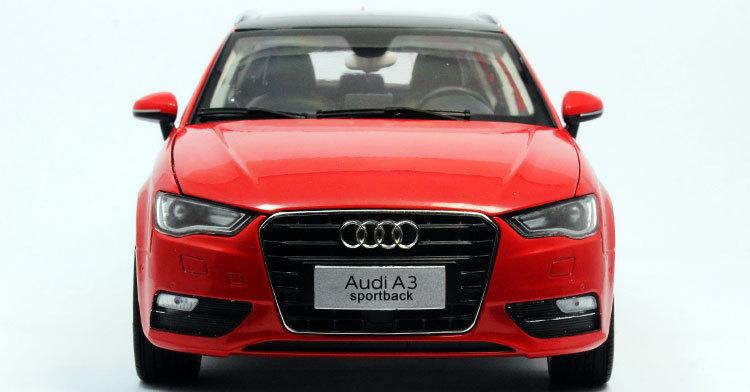 Wholesale - DIE CAST MODEL,DEALER 1:18 China Volkswagen VW AUDI A3 SPORTBACK 2014,RED(China (Mainland))