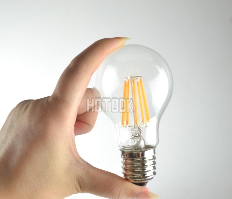 Filament Led Bulb led lamp Antique Retro Vintage Screw Globe Light Bulb E27 220V 4W 6W 8W Edison LED Bulb Lamp Halogen desk lamp(China (Mainland))