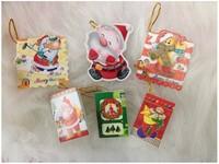 100pcs Wishing cards, 2014 christmas decoration, 6 * 8cm small wish cards, christmas tree small greeting card
