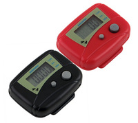 Electronic LCD Run Step Pedometer Walking Distance Calorie Kilometer Milescontador de passos pedometro 100pcs DHL/FEDEX