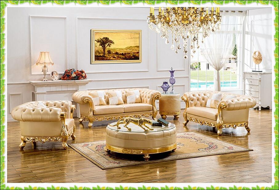 Luxury royal set sofa italian leather president room sectional sofa hot selling(China (Mainland))