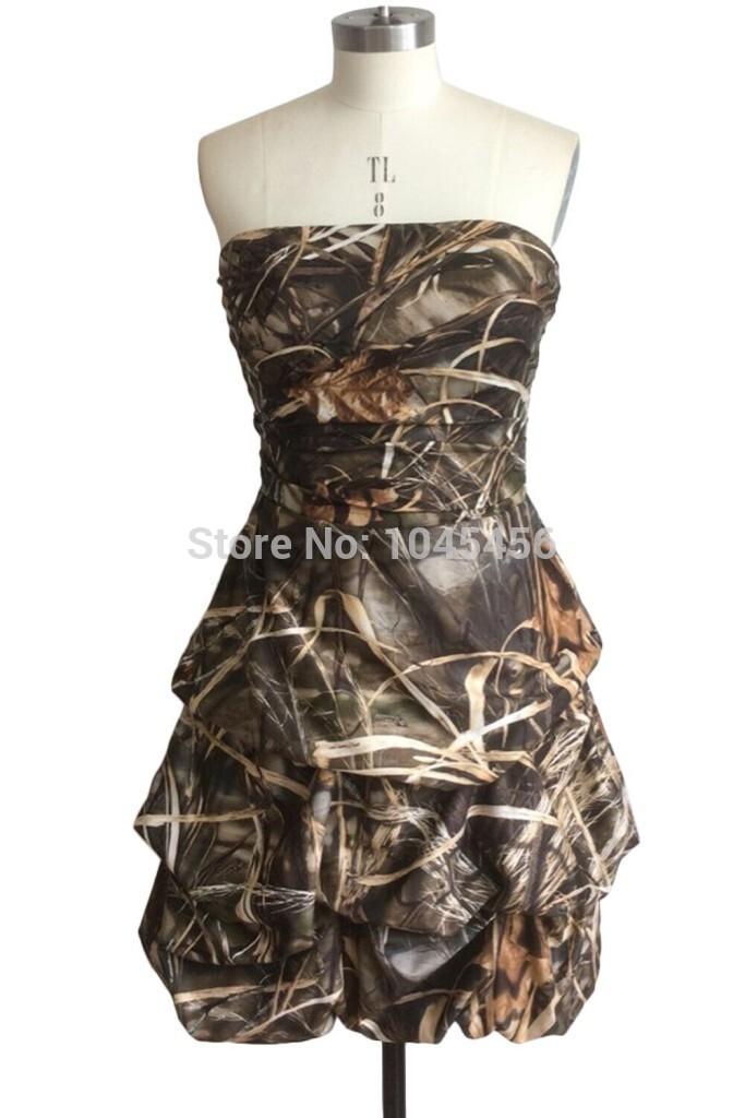 Camo prom dresses for hot