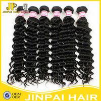 JP shedding and tangle free wholesale virgin brazilian remy hair weaving