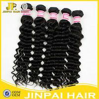 JP wholesale aaaaa cheap 100% unprocessed brazilian hair weave