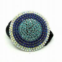 Super Quality !!! New Arrival Bohemian Fashion Rhinestone Hair Accessories Tampopo Headbands Hair Bands SF576
