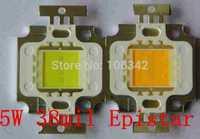 Best Price 38mil Epistar Chip 5Watt High Power LED 4*1 350-400lm 12V 300mA 20pcs/lot