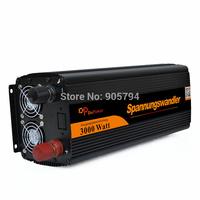 DEFEKT SPANNUNGSWANDLER 3000W - 6000 WATT DC 12V to AC 230V WECHSELRICHTER