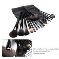 professional 24pcs makeup brush set makeup brushes & tools make up brushes set brand make up brush set case black colour CZ024