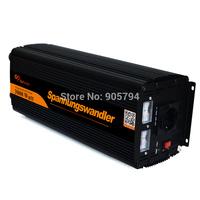 SPANNUNGSWANDLER 3000W - 6000 WATT DC 12V to AC 220V  230V WECHSELRICHTER