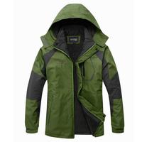 ZCE  Winter outdoor Ski suit climbing travel Jackets warm windproof waterproof sportswear hunting clothes Fleece men's jacket