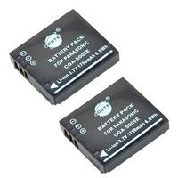 2PCS DSTE S005E DMW-BCC12 Battery compatible for Panasonic Lumix DMC-FX9, DMC-FX10, DMC-FX12, DMC-FX50, DMC-FX100